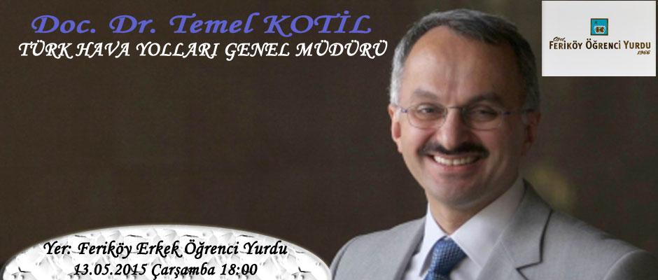THY Genel Müdürü Temel Kotil'in Konferansı