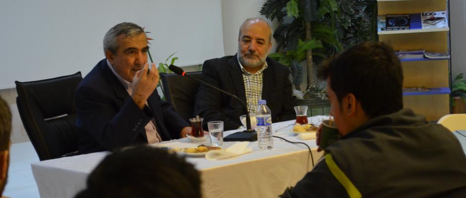Haliç Üniv. Rektörü Prof. Dr. Remzi Çetin, MTTB son Genel Başkanı Vehbi Ecevit Söyleşisi
