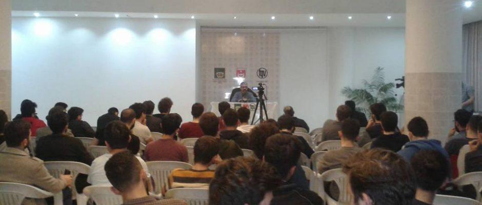 """Erem Şentürk, """"Vesayet Sisteminin Kökleri"""" konulu konferansıyla bizlerleydi"""